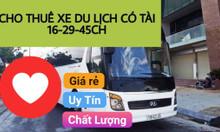 Cho thuê xe du lịch 4-7-16-29-45 chỗ giá rẻ