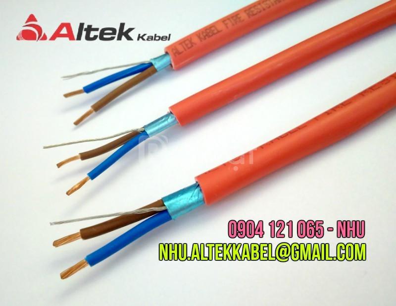 Cáp chống cháy chống nhiễu 2x1.5mm2 altek kabel