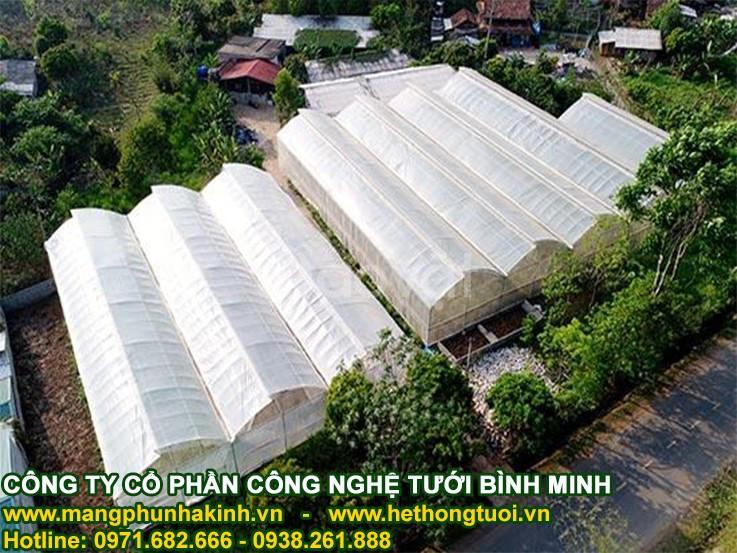 Thiết kế nhà lưới, báo giá lưới trồng rau sạch, lưới chắn côn trùng