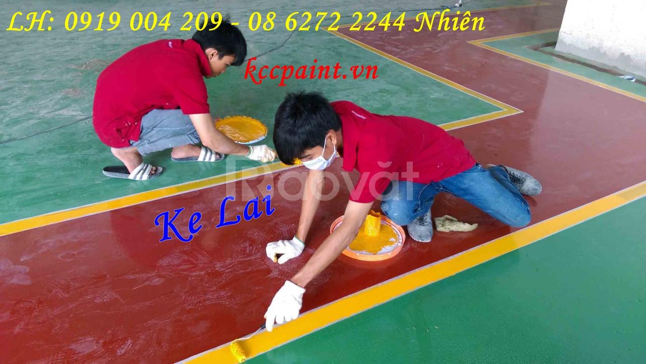 Sơn sàn, sơn nền, sơn epoxy kcc, sơn tầng hầm, chung cư