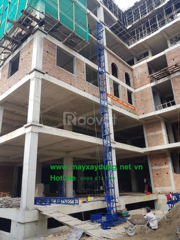 Bán và cho thuê vận thăng xây dựng tại Đà Nẵng