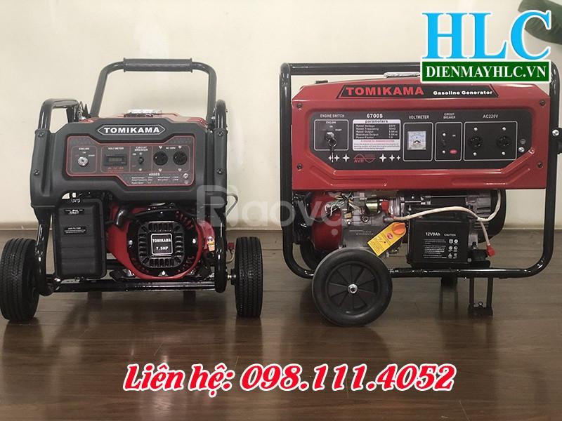 Tổng hợp các loại máy phát điện chạy xăng mini tốt