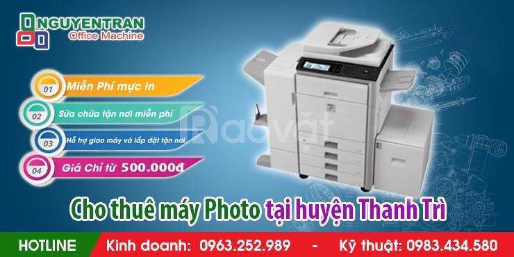Cho thuê máy Photocopy tại huyện Thanh Trì (ảnh 4)