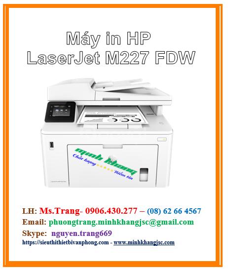 Máy in đa chức năng HP Pro M227fdw giá tốt