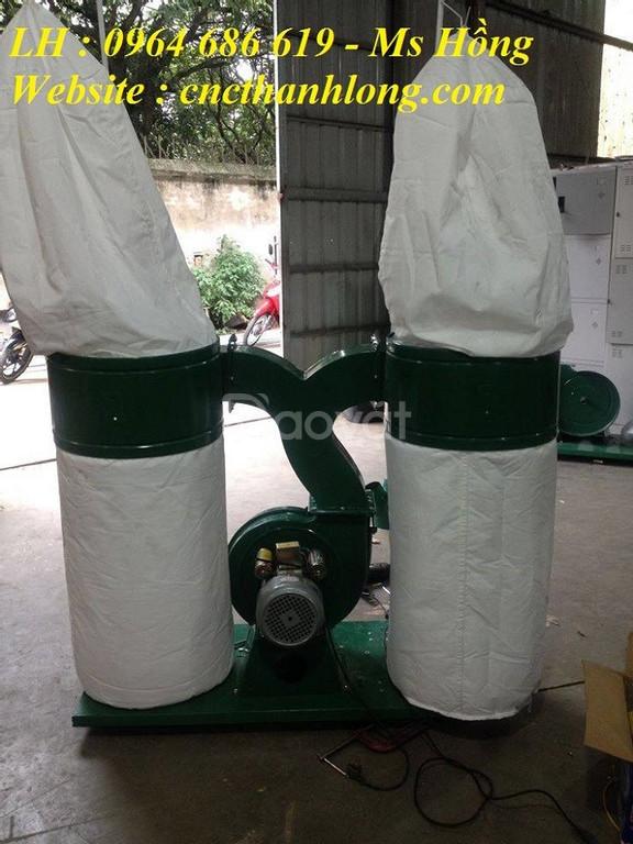 Hướng dẫn lắp đặt máy hút bụi công nghiệp 2 đầu cho máy cnc