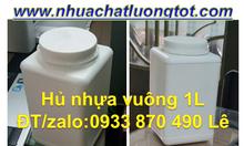 Hủ nhựa 350ml đựng hóa chất,hủ nhựa 500ml giá rẻ,hủ nhựa 1 lít giá rẻ