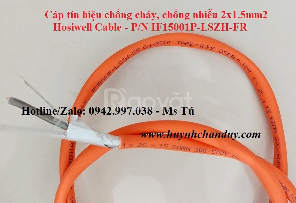 Cáp tín hiệu chống cháy Hosiwell Cable, xuất xứ Thái Lan
