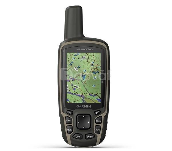 Máy định vị cầm tay GPS Garmin GPSMAP 64sx