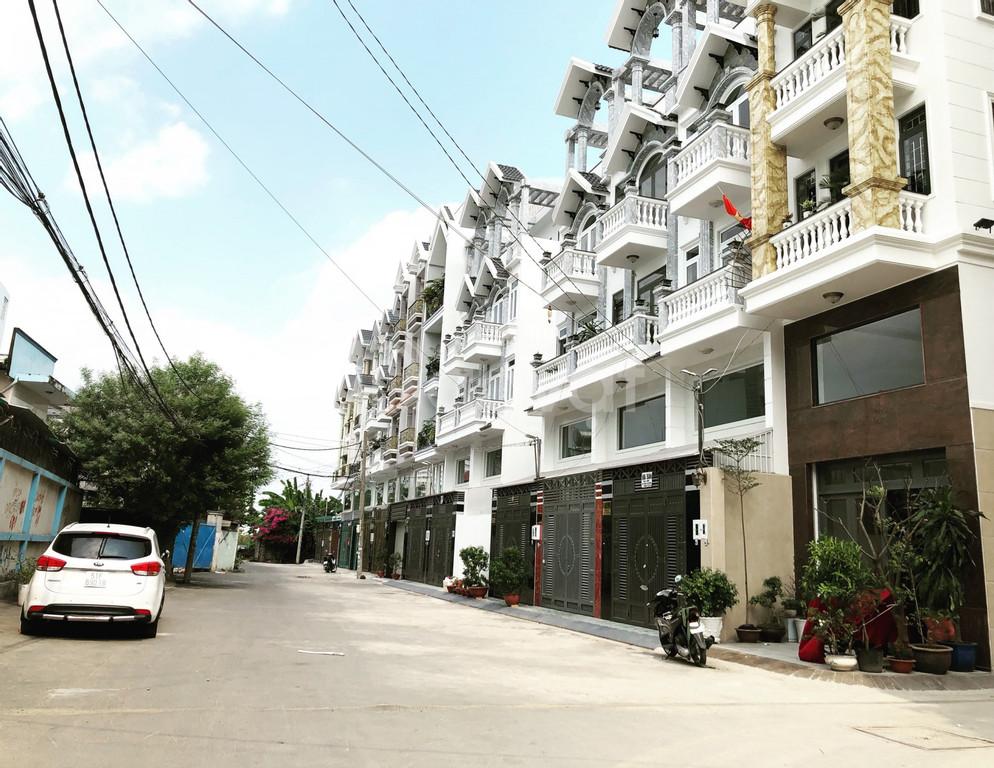 Nhà phố cao cấp đướng số 30, P6, GV ngay chợ An Nhơn (ảnh 1)