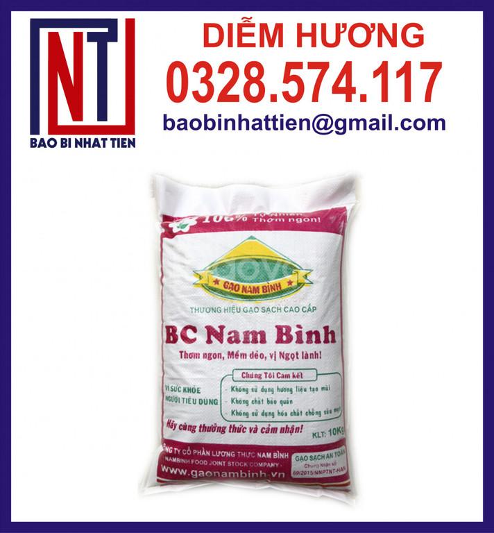 Bao đựng gạo 10kg in flexo  (ảnh 6)