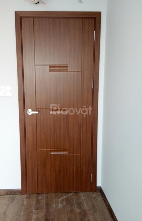 Cửa nhựa giả gỗ ABS Hàn Quốc cho chung cư căn hộ cao cấp