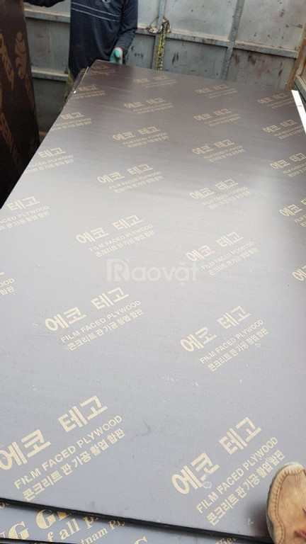 Ván ép phủ phim giá rẻ dùng trong thi công và xây dựng