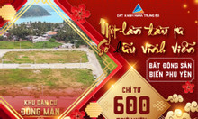 Sở hữu đất đô thị ven biển - Tam đại danh vịnh Phú Yên chỉ 568 triệu