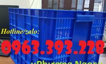 Sọt nhựa đựng hàng, sọt nhựa rỗng cao 39, sọt đựng nông sản