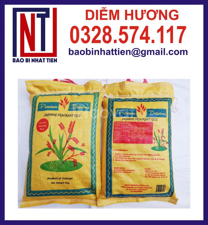 Bao đựng gạo 10kg in flexo  (ảnh 5)