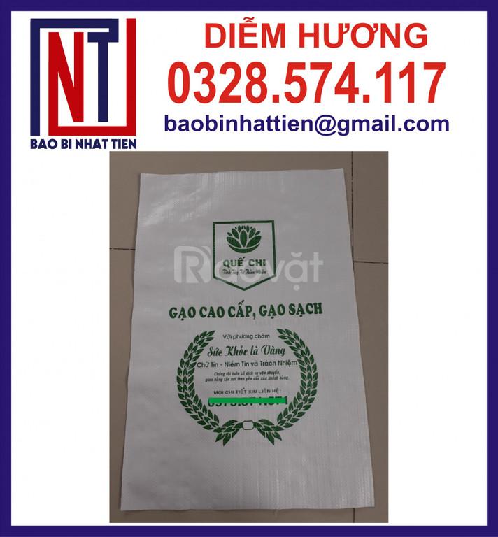 Bao đựng gạo 10kg in flexo  (ảnh 7)