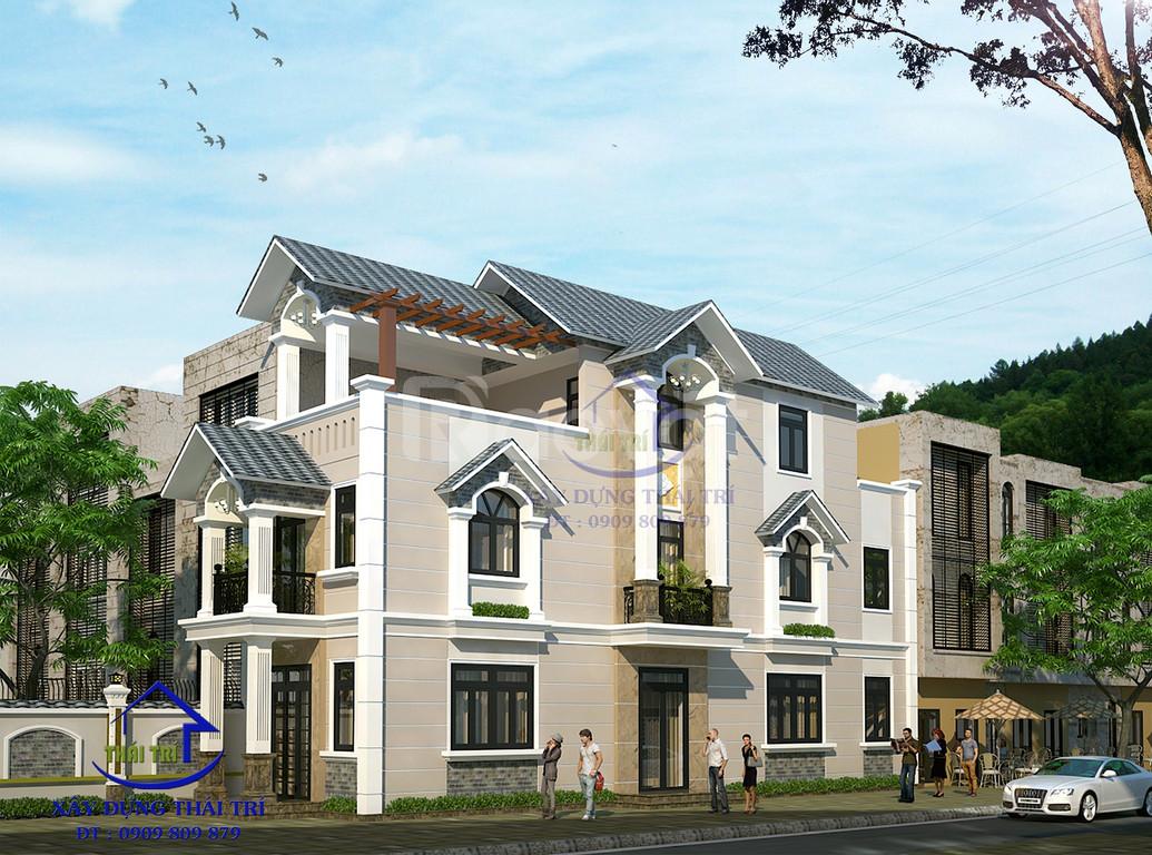 Nhận thiết kế nhà phố, biệt thự, giá rẻ, đẹp, quận Tân Bình, Tân Phú