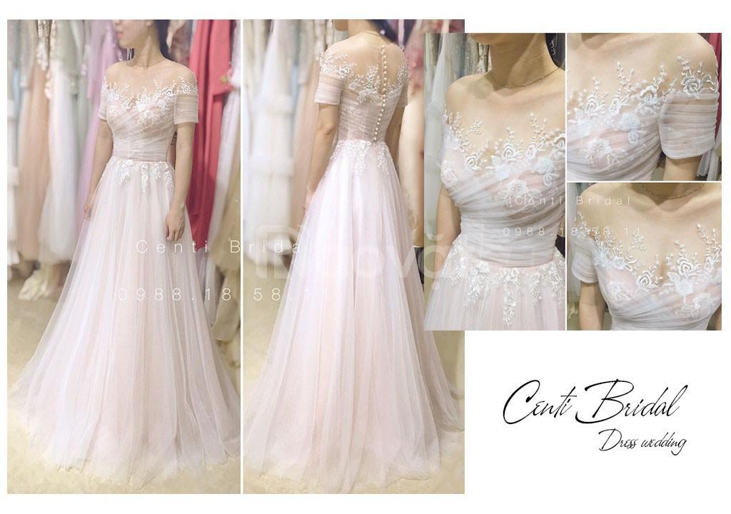 Địa chỉ váy cưới thiết kế may đo uy tín tại TpHCM