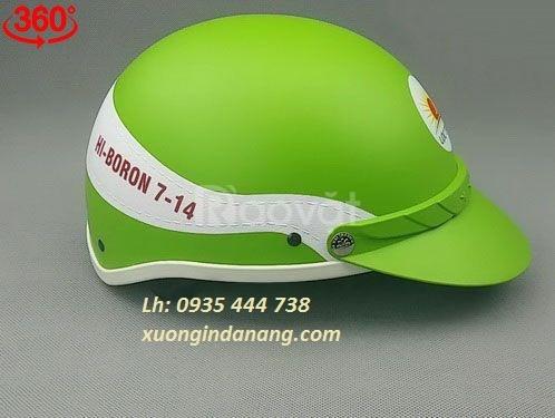 Mũ bảo hiểm in logo tại Quảng Nam,báo giá mũ bảo hiểm