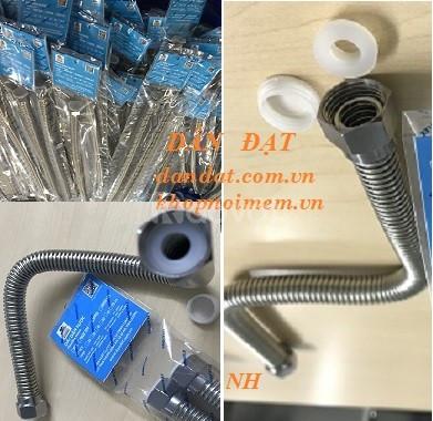 Ống mềm dẫn nước inox, dây cấp nước inox 304, Ống dẫn nước nóng lạnh