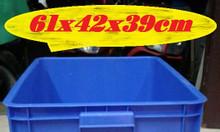 Thùng đặc 3T9, thùng nhựa cao 39cm, thùng nhựa nguyên sinh