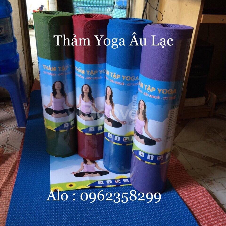 Thảm yoga âu lạc giá rẻ