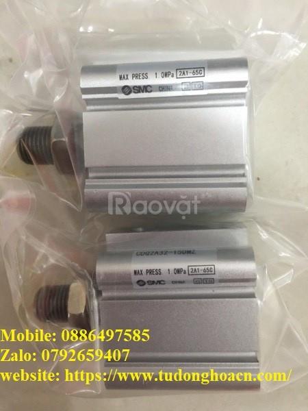 Xi lanh CDQ2A32-15DMZ chính hãng SMC  (ảnh 3)