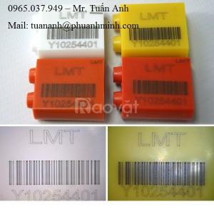 Khắc, in barcode, mã vạch lên inox, kim loại… quận 9, quận 2, thủ đức