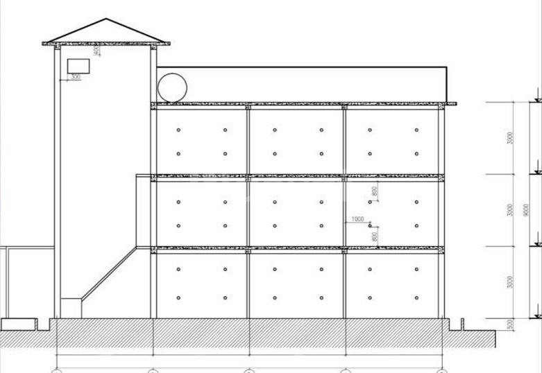 Bản vẽ thiết kế nhà yến