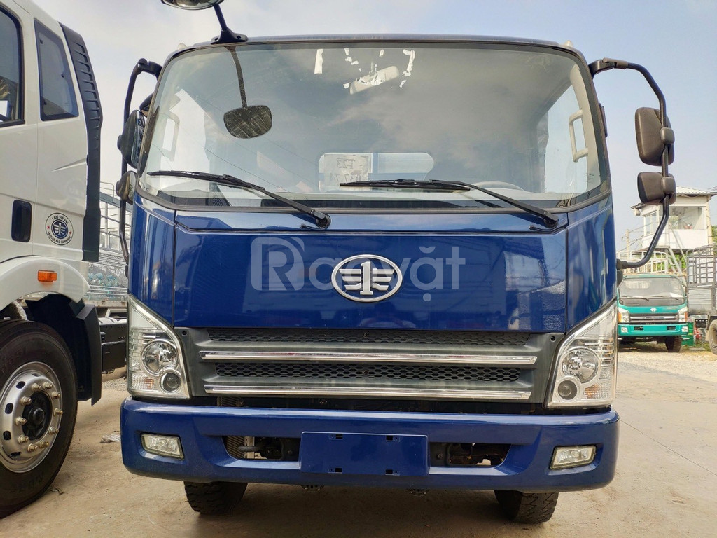 Xe tải faw 7T3   xe faw 7.3 tấn — máy hyundai — thùng 6m2 — vay 80% xe