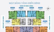 Chung cư Định Công, ở ngay, cách bệnh viện Bạch Mai 2km, 3 ngủ 1.8 tỷ