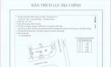 Bán gấp lô đất 100m2, TT Lai Uyên, Bàu Bàng, giá tốt