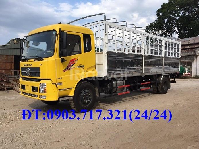 Xe tải DongFeng B180 mới 2019 tải 9 tấn thùng dài 7m6 nhập khẩu 2019
