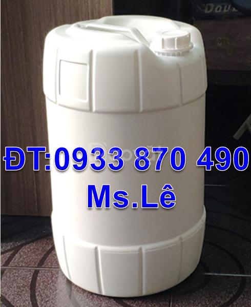 Sản xuất can nhựa 10 lít,mua can nhựa 20l,bán can nhựa 25 lít hóa chất