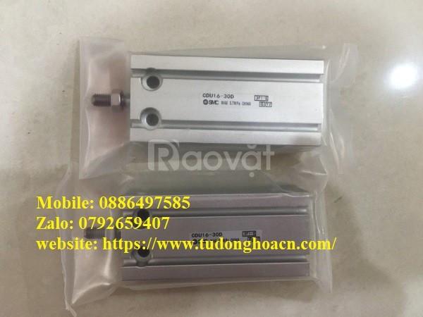 Xi lanh SMC CDU16-30D chính hãng giá tốt  (ảnh 1)