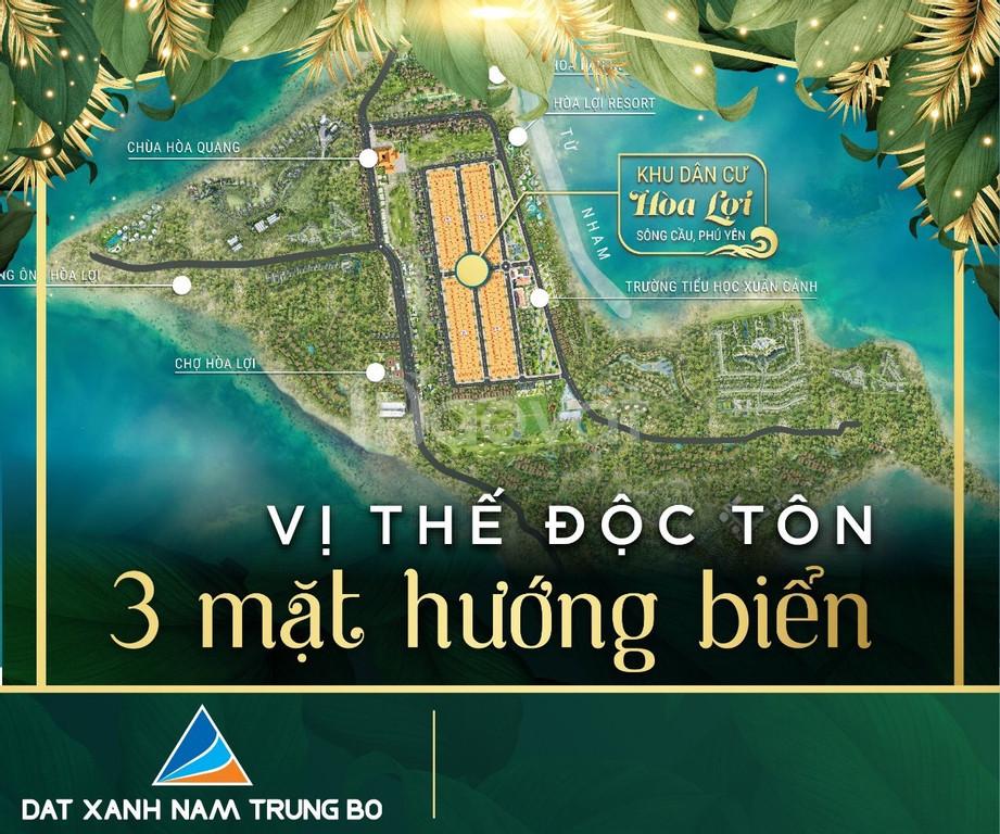 Cạn nguồn cung đất biển và cơ hội sở hữu đất biển Phú Yên với 7.5Tr/m2