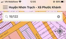 Bán 154m2 đất khu tái định cư Phước Khánh đối diện công viên