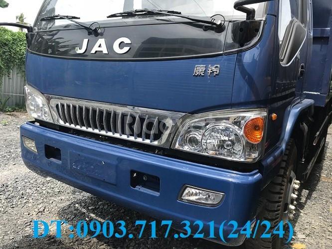 Bán xe ben Jac 7t8 nhập khẩu 2017 thùng 6 khối rưỡi giá ưu đãi