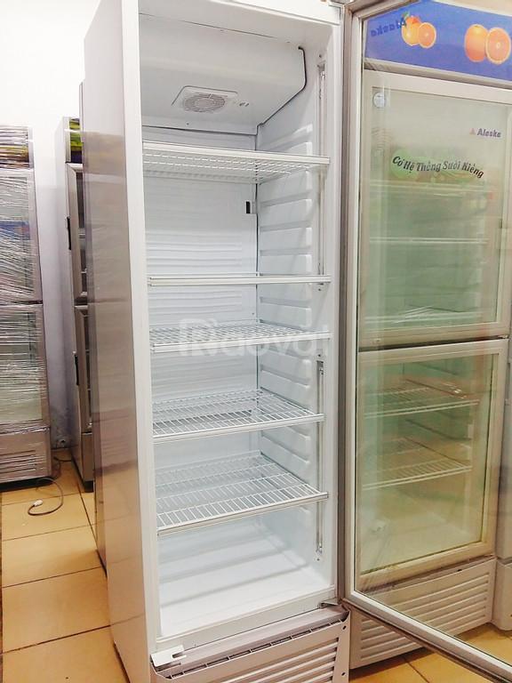 Tủ mát Alaska cũ 450L, máy chạy êm, mát lạnh nhanh