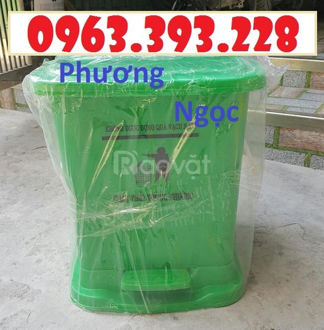 Thùng rác y tế, thùng đựng rác y tế, thùng rác đạp chân