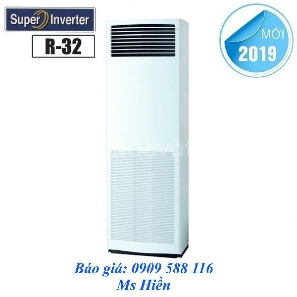 Lắp đặt máy lạnh tủ đứng Daikin dòng tiết kiệm điện Inverter – Gas R32