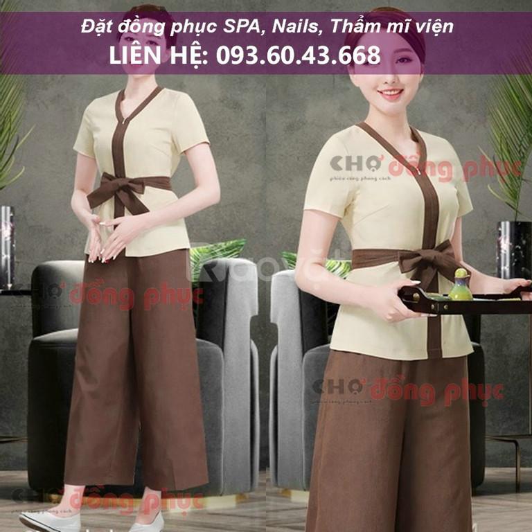 Quần áo đồng phục SPA, tiệm NAIL