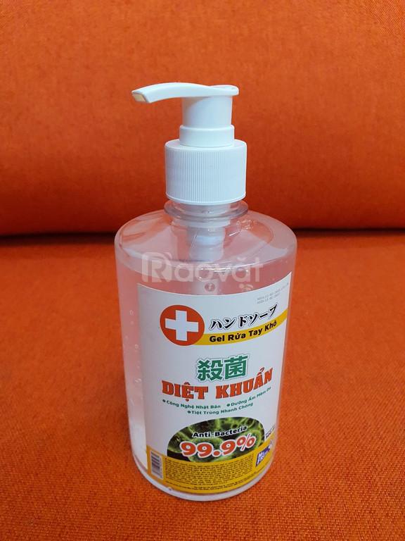 Gel rửa tay khô diệt khuẩn Mr.Fresh 500ml. Onemart.vn
