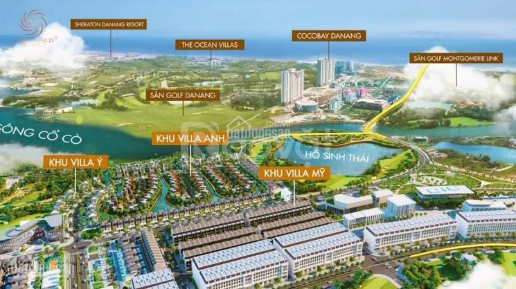 One World Regency Nam Đà Nẵng, view sông Cổ Cò, chiết khấu đến16%