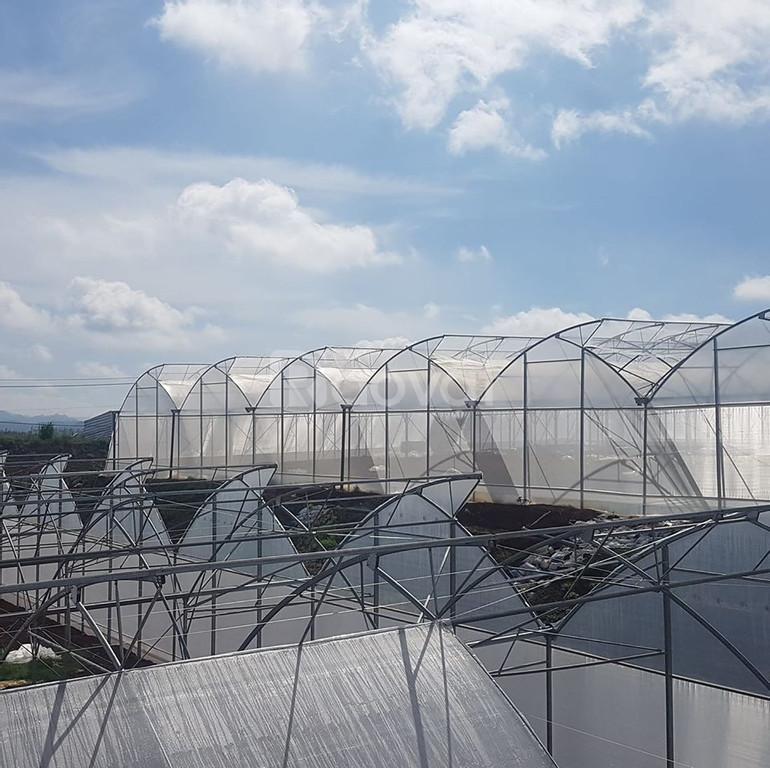 Nhà màng trồng rau, nẹp gài nhà màng, quy cách chọn nhà màng