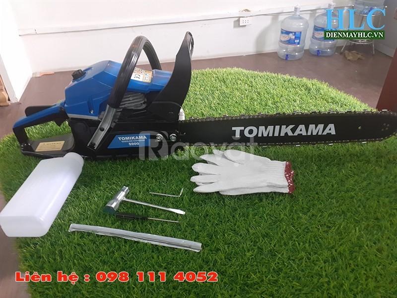 Máy cưa gỗ cầm tay chạy xăng Tomikama 5900 công suất 1,9kw (ảnh 4)