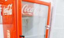 Tủ mát Coca cũ 285 lít, mới 88%