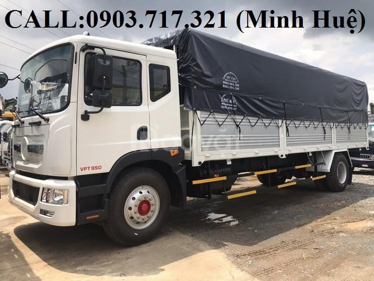 Bán xe tải Veam 9T3 VPT950 mới 2019 thùng dài 7m6