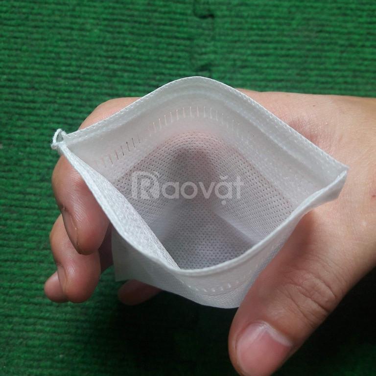 Túi lọc trà, lọc gia vị bằng vải không dệt (ảnh 2)