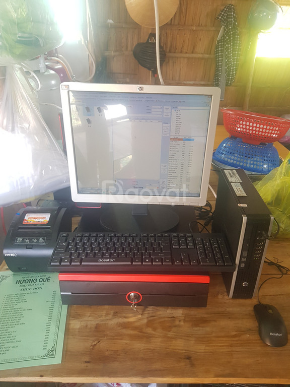 Máy tính tiền dành cho quán ăn tại Cần Thơ (ảnh 2)